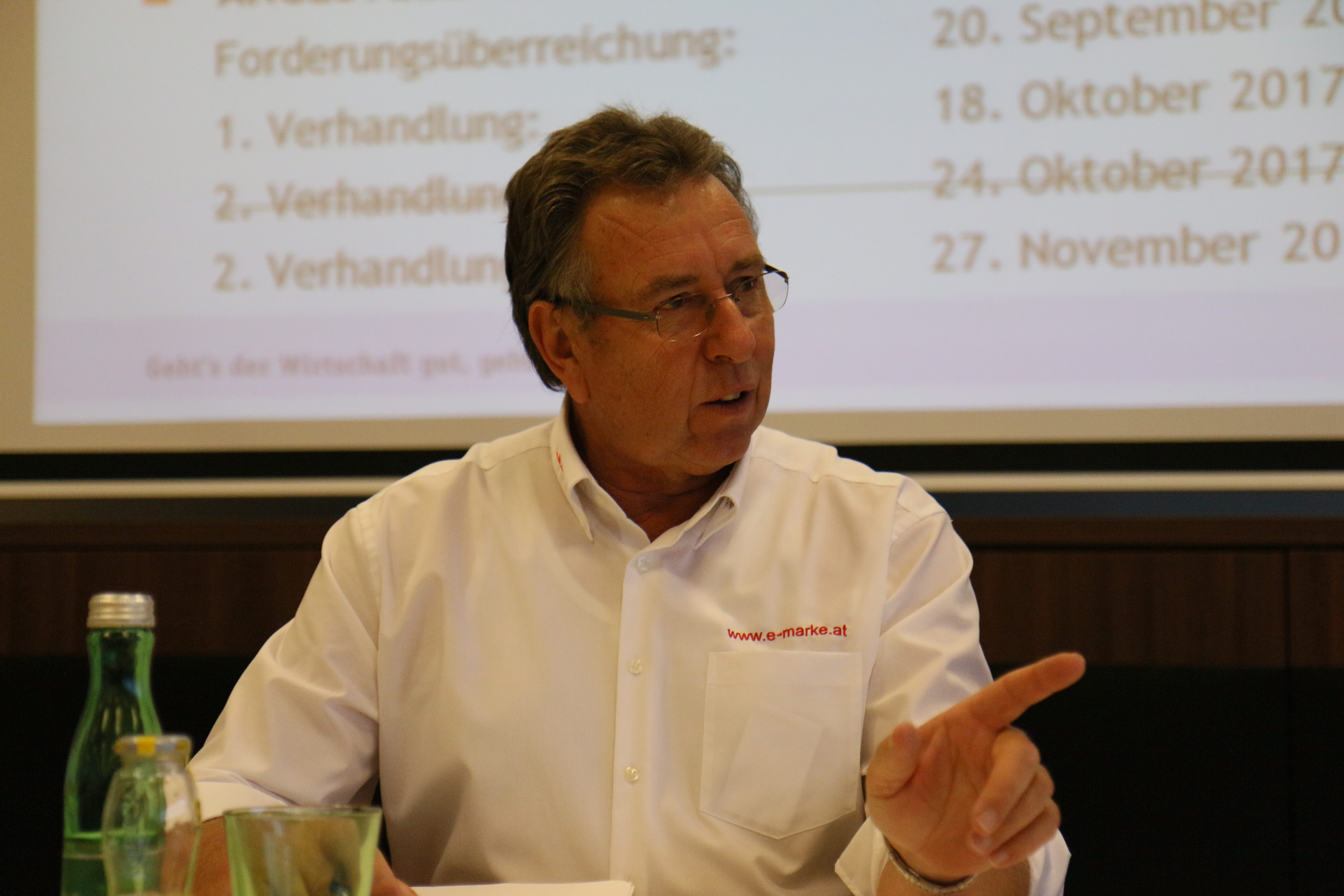 Bundesinnungsmeister Gerald Prinz